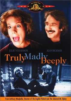 Directed by Anthony Minghella.  With Juliet Stevenson, Alan Rickman, Jenny Howe, Carolyn Choa. Once upon a time there were two people in love, their names were Nina and Jamie. They were even happy enough to be able to live happily ever after, (not often the case) and then Jamie died. Nina is left with a house full of rats and handymen, a job teaching foreigners English and an ache that fills the night sky.