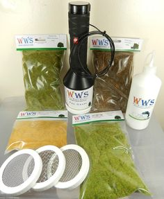 WWS - Pro Grass Static Applicator Large Kit, Model Landscapes, Railways, War Games, Dolls Houses, Arts and crafts. by WarWorldScenics on Etsy