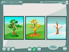 Recurso Interactivo: Ordenar historias temporales de 2 y 3 elementos - info-tea-materiales