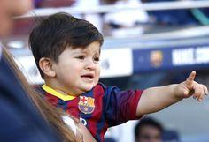 Lionel Messi's son Thiago - Barcelona