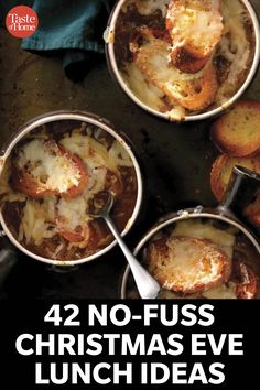 42 No-Fuss Christmas Eve Lunch Ideas to Serve Your Guests