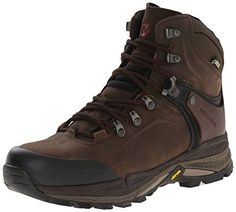Merrell Men's Crestbound Gore-Tex Mid Hiking Boot, Clay, 10 M US ** You can find out more details at the link of the image.