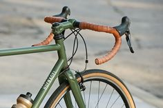 Beautiful Bicycle: Jesse's Hufnagel Fire Road Racer    by Prolly Is Not Probably, via Flickr
