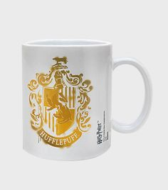 Hufflepuff Stencil Mug | The Harry Potter Shop at Platform 9 3/4