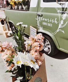 Mobile Flower Truck