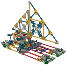 K'Nex Classic Constructions 70 Model Building Set - The Nile Building Toys For Kids, Lego Challenge, Steam Boats, Australia Living, Boat Parts, Christmas 2014, Model Building, Educational Toys, Kids Toys