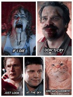 This made me cry to see hoppers eyes and how sad they are 😂😭 Stranger Things Quote, Stranger Things Have Happened, Stranger Things Season 3, Stranger Things Aesthetic, Eleven Stranger Things, Stranger Things Netflix, Stranger Danger, Fangirl, Look At The Sky