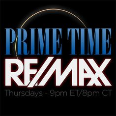 Prime Time RE/MAX September Schedule!