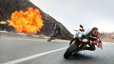 """#BMW #Motorrad #motorcycle in #RogueNation 