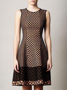Missoni Traforato patch tri-knit dress for women