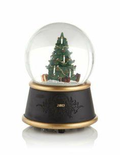 Christmas Tree Musical Snow Globe-Marks  Spencer
