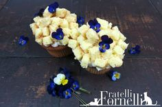 #Mimosa #cupcakes flavored with #vanilla and #orange blossom water :) . #8March #WomensDay #recipe - Fratelli ai Fornelli