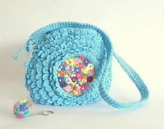 Turquoise spring crochet  by pipocass