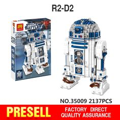 Lele 35009 Lepin Genuine Star War Series The R2-D2 Robot Set Out of print Building Blocks Bricks Minifigures Toys legoed 10225 #>=#>=#>=#>=#> Click on the pin to check out discount price, color, size, shipping, etc. Save and like it!