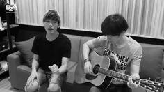 에릭남 (Eric Nam) - 눈, 코, 입 (Eyes, Nose, Lips) ENG ver. (Acoustic cover) (ღ˘⌣˘ღ) aaaah Eric you have such a sweeeet voice!!