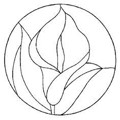 vitrail dessin fleur - Recherche Google