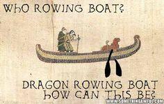 Dragon remando ¡Cómo puede ser?!