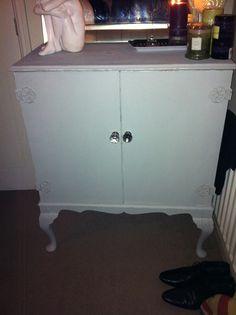 Refurbished tv cabinet