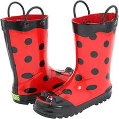 Rain boots for the spring puddles :)