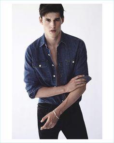 Good Jeans: Julian Schneyder + More Model Denim for GQ Australia - The Fashionisto