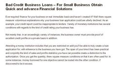 Get fast bad credit business loans with quick funding approval at affordable rates. Get your business credit repaired now with bad credit business loans funding solution. #badcreditbusinessloans  #getabadcreditbusinessloan.com