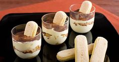 Tiramisu is such a decadent and elegant dessert to finish any dinner. What's great about this recipe is that you can make your own individual servings.
