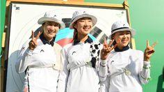 Südkoreas Bogenschützinnen haben ihre insgesamt achte olympische Goldmedaille im Team-Wettbewerb gewonnen. Das Team um London-Olympiasiegerin Ki Bo-Bae bezwang im Finale Russland mit 5:1, Bronze ging an Taiwan. Die südkoreanischen Frauen haben damit alle seit 1988 ausgetragenen Mannschafts-Wettbewerbe bei Olympia gewonnen. Am Vortag hatten sich bereits Südkoreas Männer Team-Gold gesichert.
