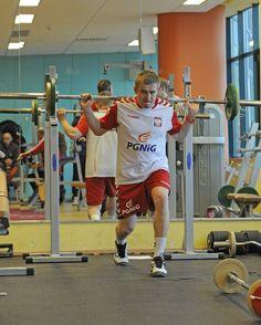 AD2013 January siłownia - reprezentacja piłka ręczna seniorzy - kadra Bieglera