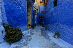 Shefshauen - The Blue Town Of Morocco