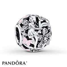 PANDORA Charm Dazzling Daisy Fairy Sterling Silver