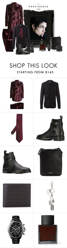 """Providence by Kole"" by houseofstone-1 ❤ liked on Polyvore featuring Givenchy, Lanvin, Ermenegildo Zegna, Salvatore Ferragamo, Chanel, Odin, men's fashion and menswear"