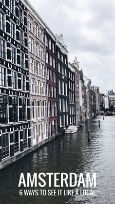 Planning a trip to Amsterdam, Netherlands and want to see something different? Check out our travel tips on 6 fun things to do in Amsterdam outside the main tourist attractions! We cover some of the best neighborhoods, restaurants, bars, food and drinks that have yet to be discovered by tourists. Best restaurants in Amsterdam. Best bars in Amsterdam. Best instagram spots in Amsterdam.