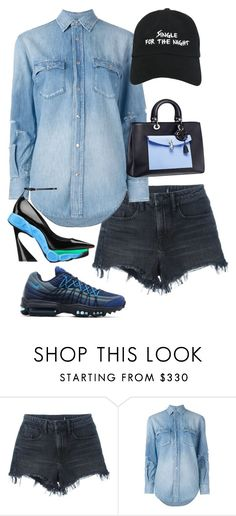 """""""Untitled #5438"""" by stylistbyair ❤ liked on Polyvore featuring Alexander Wang, Yves Saint Laurent and NASASEASONS"""