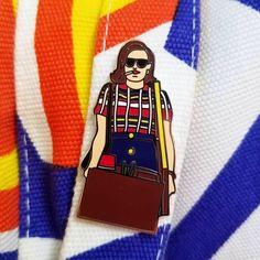 Mad Men enamel pin - Peggy Olson by WeirdoWeapons on Etsy https://www.etsy.com/listing/485675449/mad-men-enamel-pin-peggy-olson