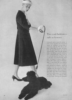 Jean Patchett, February Vogue 1956    Karen Radkai