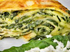 Spinat Tofu Omeletts  vegan