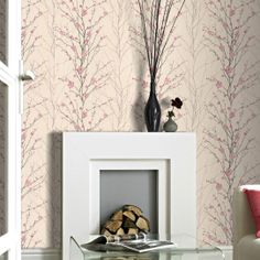 Graham & Brown Vitality Floral Pink Wallpaper. #laylagrayce #wallpaper #new