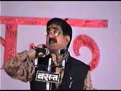 """BEST COMEDY EVER World Famous Poet Om Vyas Best Poetry on """"Kuttai""""!"""