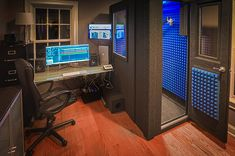 Darren Kramer's Voice over Studio!  MDL 4260 S (3.5' x 5') with several optional features!