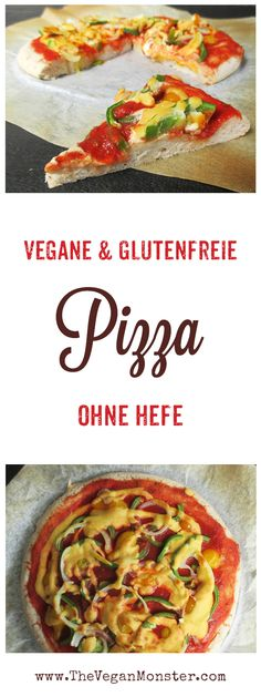 Vegane Glutenfreie Pizza Ohne Hefe Rezept - - Vegane Glutenfreie Pizza Ohne Hefe Rezept Unverträglichkeitsdiät Rezepte Vegan gluten free pizza without yeast recipe Brownie Sans Gluten, Muffins Sans Gluten, Pizza Sans Gluten, Dessert Sans Gluten, Gluten Free Biscuits, Gluten Free Pie, Gluten Free Pancakes, Gluten Free Brownies, Gluten Free Appetizers