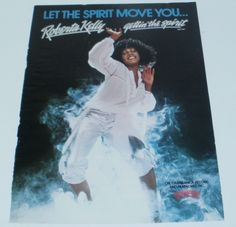Roberta Kelly Music Ad New Single Gettin In Spirit Full Color Page