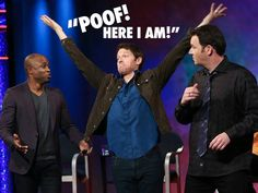 Misha on Whose Line --- funniest thing ever, watch it