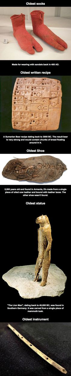 10 World's Oldest Examples Of Ordinary Things
