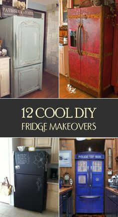 Add some style and flare to your fridge! It's easy, fast, and inexpensive.