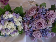 Bridal party flowers for Spring, by Carolyn Valenti