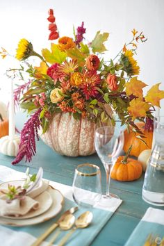 A few dozen ideas for Friendsgiving and Thanksgiving celebrations - Think.Make.Share.