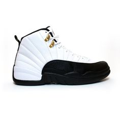Air Jordan 12 Retro Taxi ❤ liked on Polyvore featuring shoes 0a0ed0794e4
