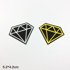 Diamond patch Applique Embroidery patch sew on patch iron on patches Wholesale (A46)