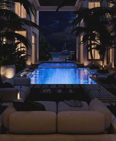 Luxury Living Archives - Page 8 of 10 - Luxury Decor - Luxury Homes Dream Home Design, Modern House Design, My Dream Home, Dream Live, Luxury Penthouse, Luxury Apartments, Design Exterior, Dream Mansion, Luxury Pools