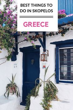The best things to do on the picture-perfect Greek Island of Skopelos - famous for being where the Mamma Mia movie was filmed. #greece #greekisland #mammamia #skopelos #skiathos #greekholiday